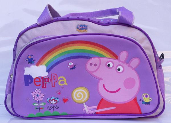 Športová taška Peppa Pig Duha