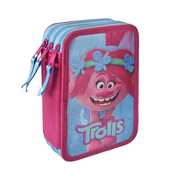 Trojposchodový peračník vybavený Trollovia Poppy