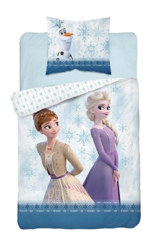 Obliečky Ľadové Kráľovstvo 2 Anna a Elsa 140/200, 70/80