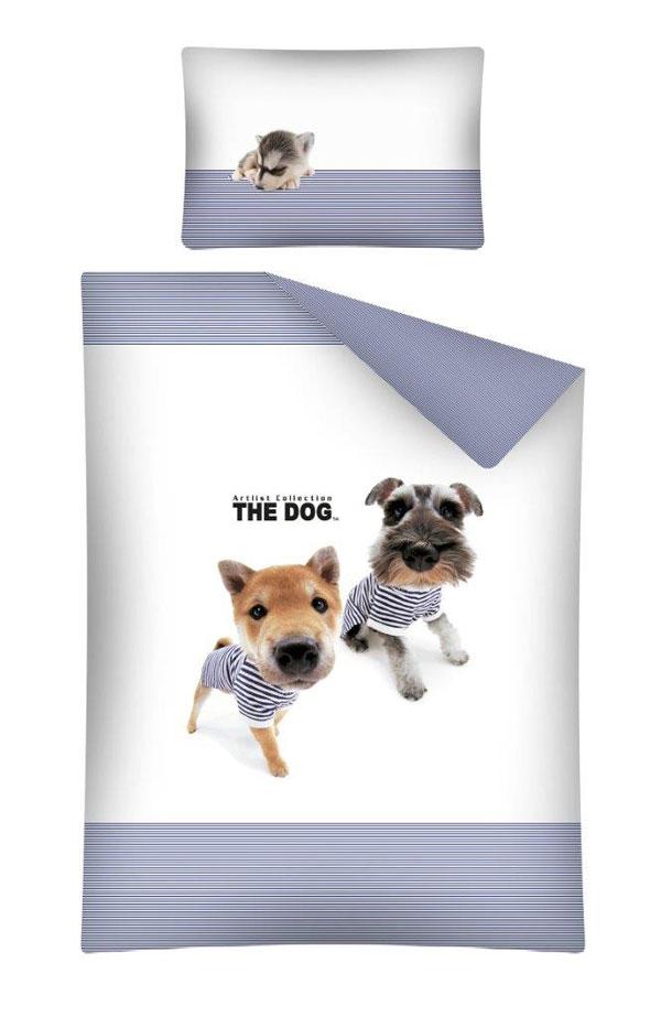 Obliečky do postieľky The Dog Námorníci modrá 100/135, 40/60