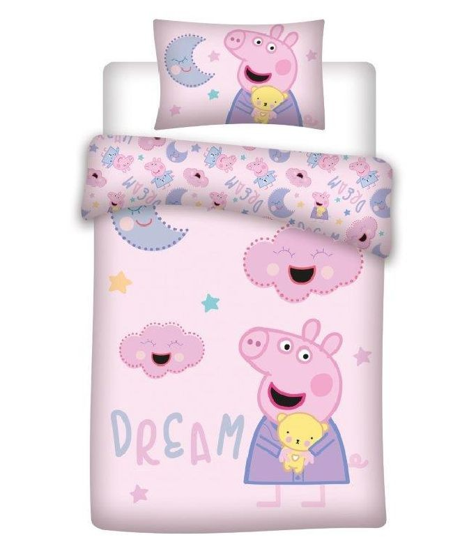 Obliečky do postieľky Peppa Pig dream 100/135, 40/60