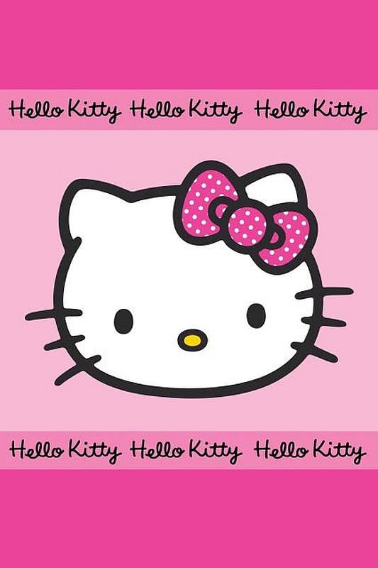 DETEXPOL Detský uterák Hello Kitty  Bavlna - Froté, 60/40 cm