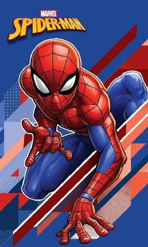 Detský uterák Spiderman blue 50/30