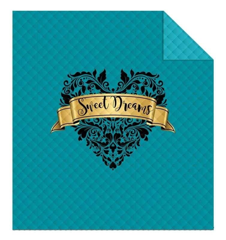 DETEXPOL Prehoz na posteľ Sweat Dreams  Polyester, 170/210 cm