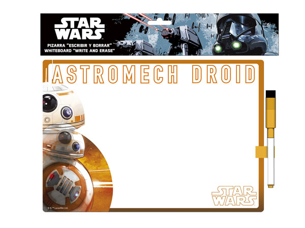 Kresliaca tabuľka Star Wars BB-8
