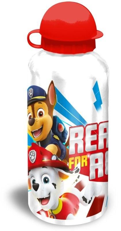 EUROSWAN ALU fľaša Paw Patrol biela  Hliník, Plast, 500 ml