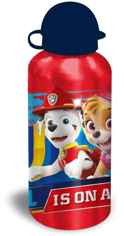 EUROSWAN ALU fľaša Paw Patrol červená  Hliník, Plast, 500 ml