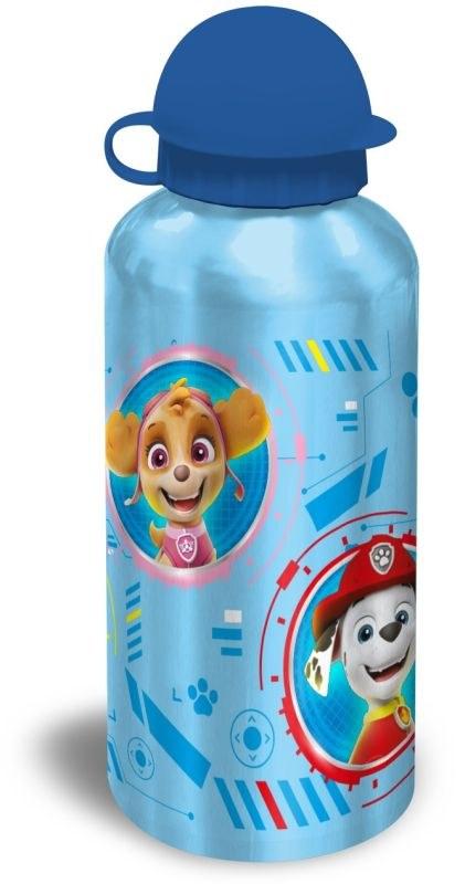 EUROSWAN ALU fľaša Paw Patrol modrá  Hliník, Plast, 500 ml