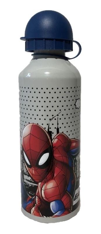 EUROSWAN ALU fľaša Spiderman grey  Hliník, Plast, 500 ml