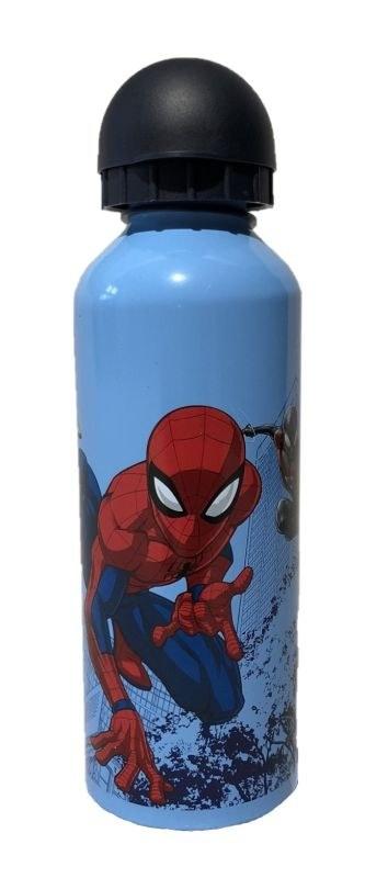 EUROSWAN ALU fľaša Spiderman blue  Hliník, Plast, 500 ml