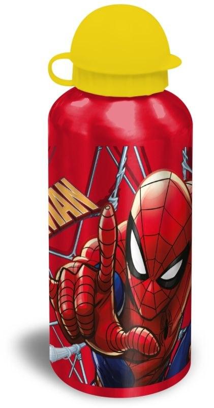 EUROSWAN ALU fľaša Spiderman red  Hliník, Plast, 500 ml