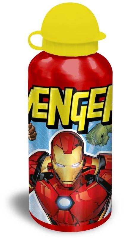 EUROSWAN ALU fľaša Avengers red  Hliník, Plast, 500 ml