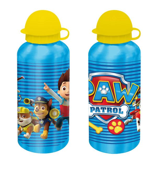 Alu fľaša Paw Patrol azúrová