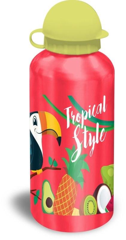 EUROSWAN ALU fľaša Tukan červená  Hliník, Plast, 500 ml