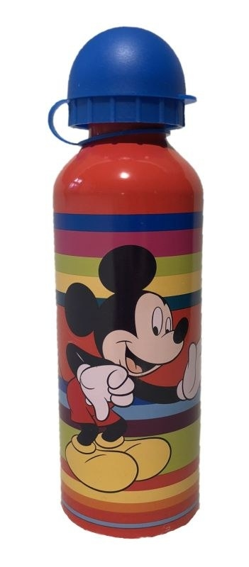 EUROSWAN ALU fľaša Mickey red  Hliník, Plast, 500 ml