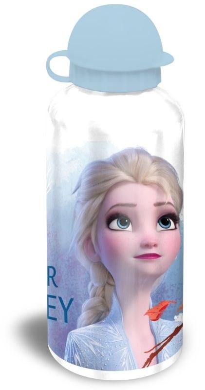 EUROSWAN ALU fľaša Ľadové Kráľovstvo 2 bílá Hliník, Plast, 500 ml