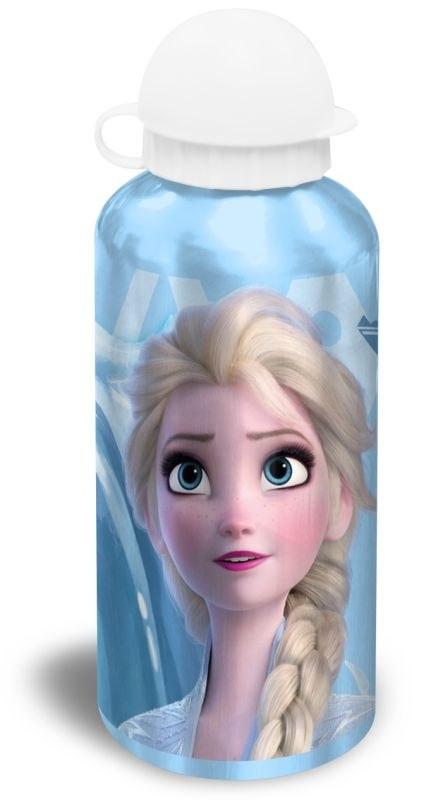 EUROSWAN ALU fľaša Ľadové Kráľovstvo 2 modrá Hliník, Plast, 500 ml