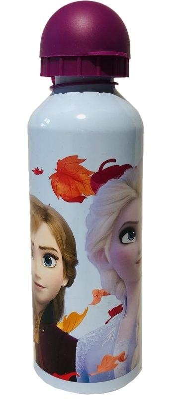 EUROSWAN ALU fľaša Ľadové Kráľovstvo 2 Anna a Elsa Hliník, Plast, 500 ml