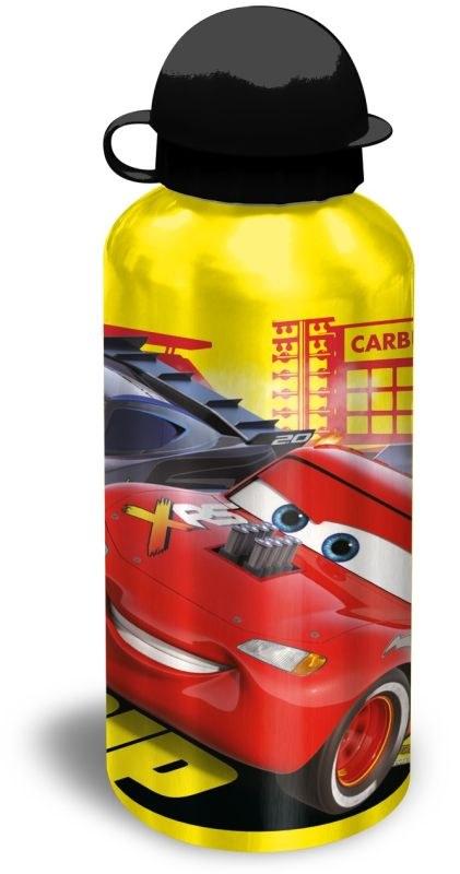 EUROSWAN ALU fľaša Cars yellow  Hliník, Plast, 500 ml