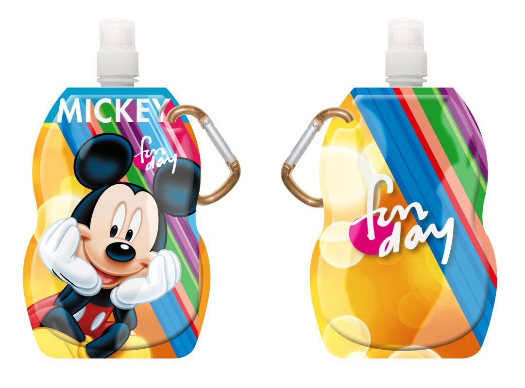 Fľaša na pitie s karabínou Mickey 330 ml