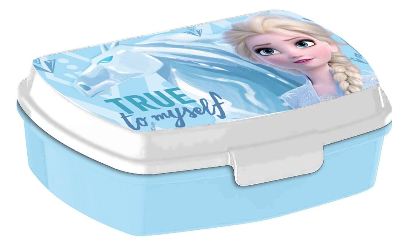 EUROSWAN Box na desiatu Ledové Království 2 Elsa Plast