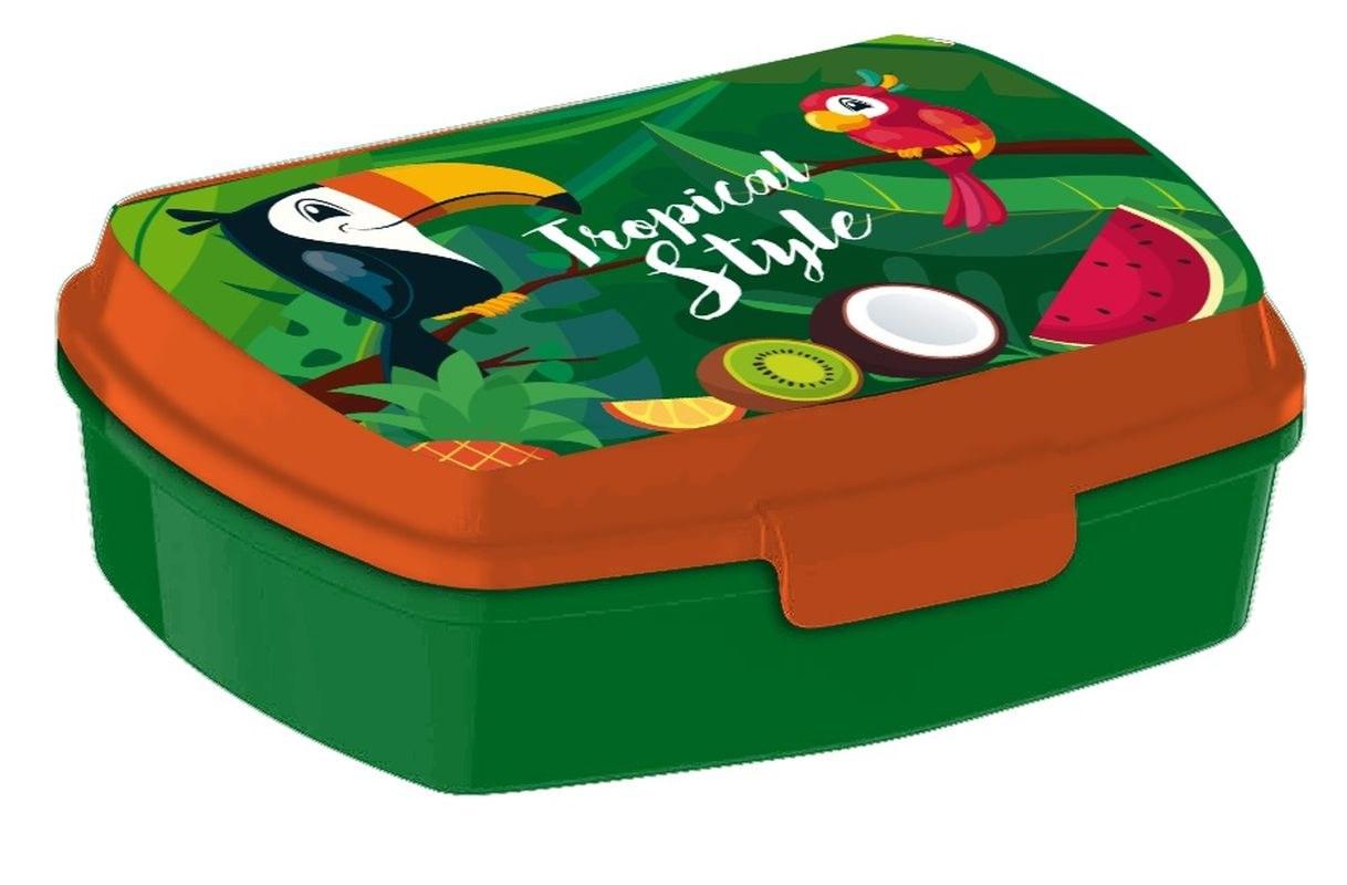 EUROSWAN Box na desiatu Tukan Plast, 16 x 12 x 5 cm