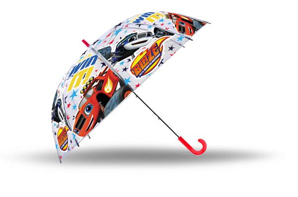 Vystreľovací Priehľadný dáždnik Blaze