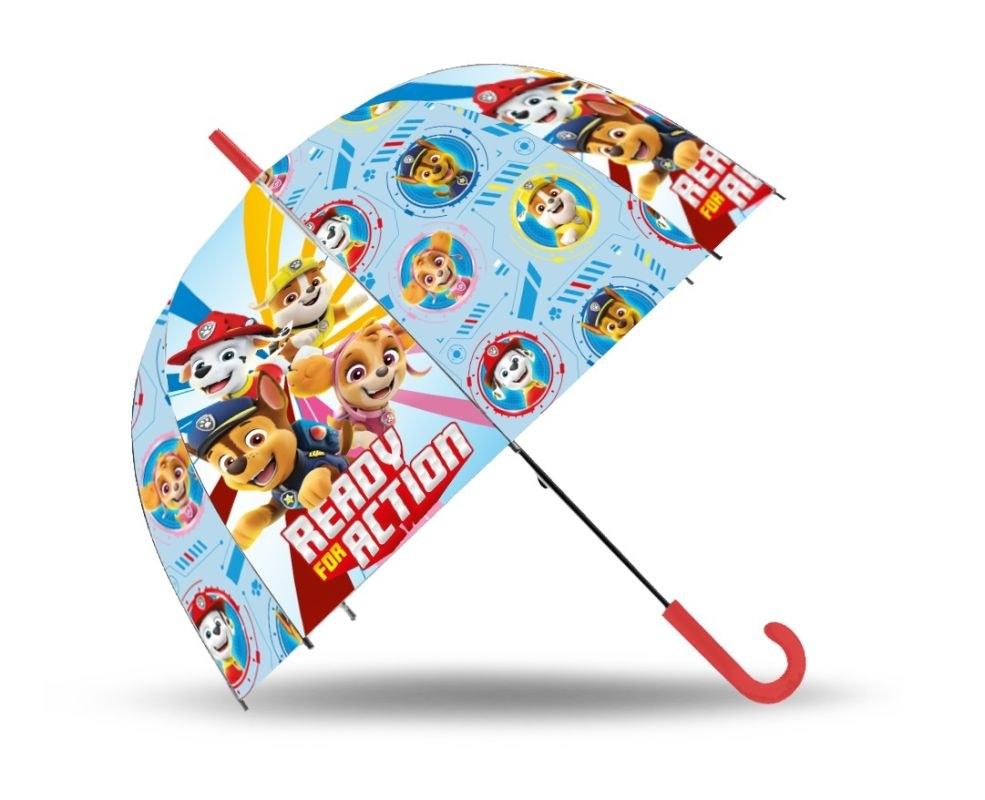 EUROSWAN Vystreľovací dáždnik Paw Patrol Action POE, průměr 70 cm