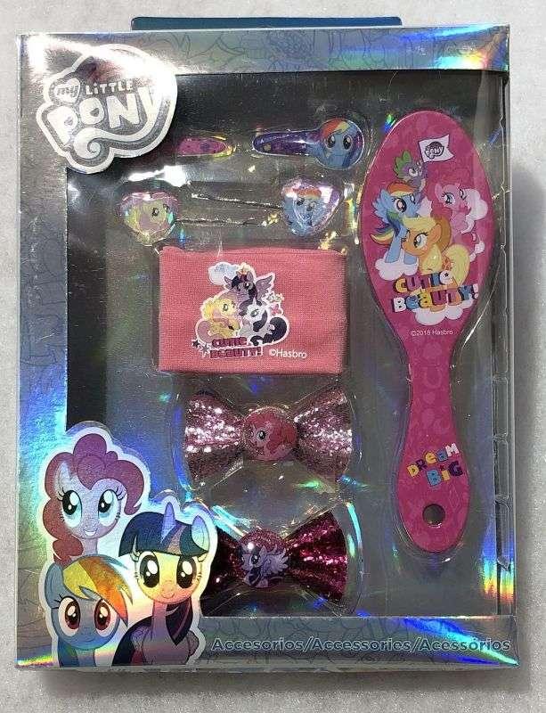 Doplnky do vlasov v darčekovej krabičke My Little Pony