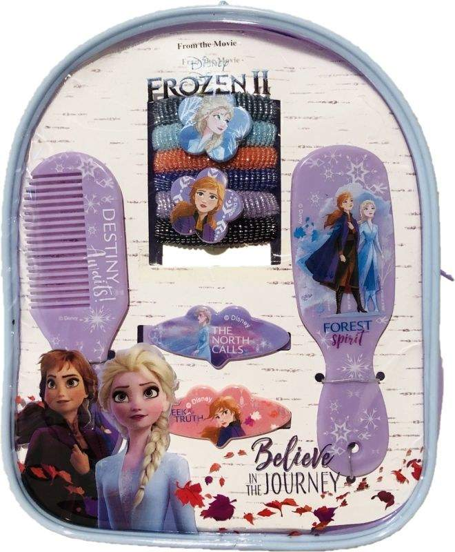 EUROSWAN Sada vlasových doplnkov v batôžku Ľadové Kráľovstvo 2 Forest  ,