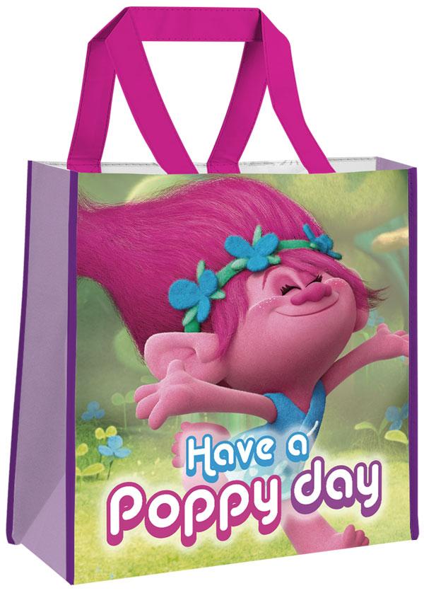 Detská nákupná taška Trollovia Poppy