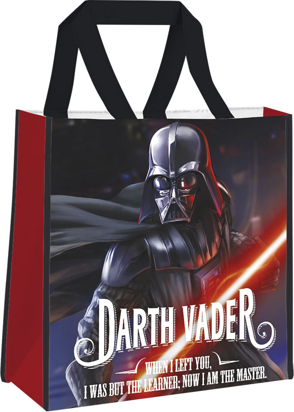 Detská nákupná taška Star Wars Darth Vader 38 cm