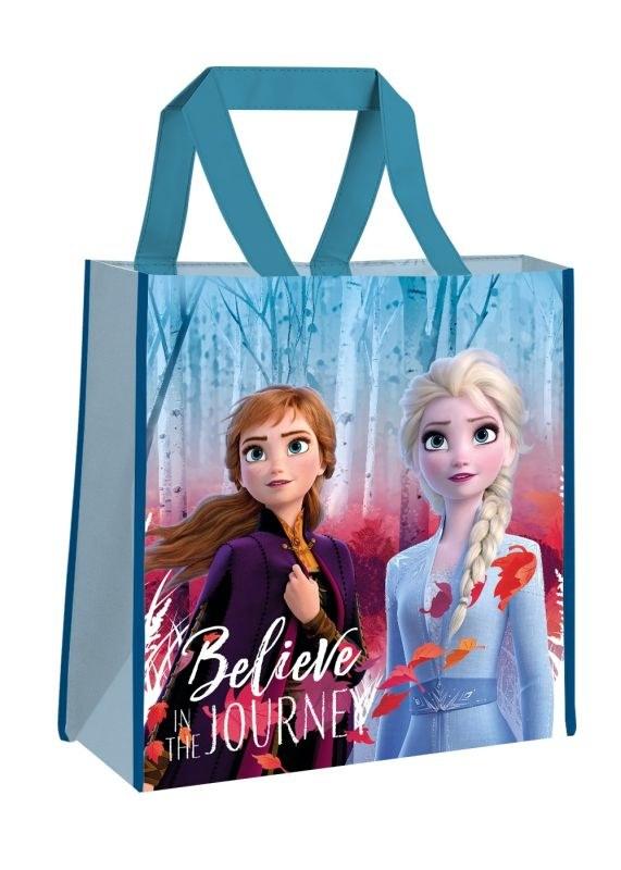 EUROSWAN Detská nákupná taška Ľadové Kráľovstvo  Polypropylen, 38 cm