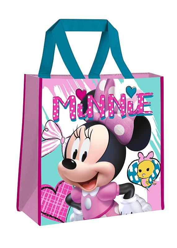 EUROSWAN Detská nákupná taška Minnie hearts  Polypropylen, 38 cm
