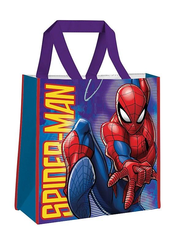 EUROSWAN Detská nákupná taška Spiderman  Polypropylen, 38 cm