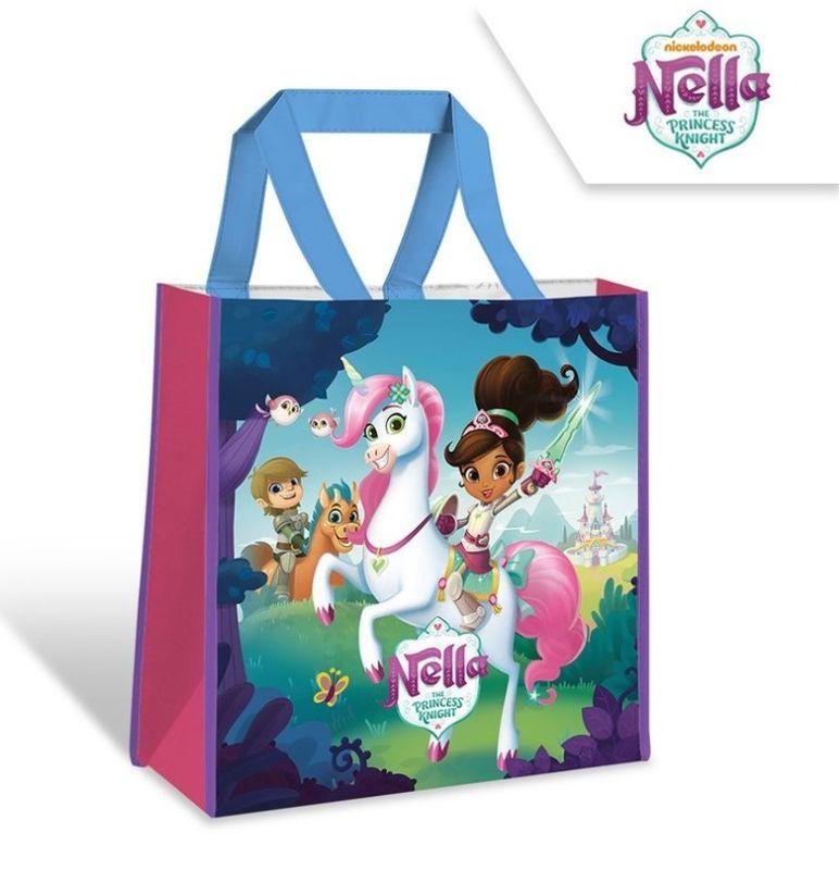 Detská nákupná taška Princezná Nella a jednorožec 38 cm