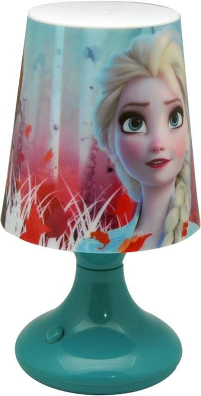 EUROSWAN Nočná stolná LED lampička Ľadové Kráľovstvo 2 Anna a Elsa Plast