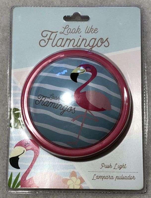 Dotyková LED lampička Plameniak