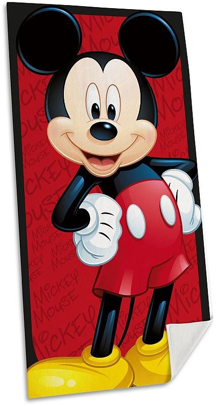 EUROSWAN Osuška Micro Mickey  Polyester, 70/140 cm