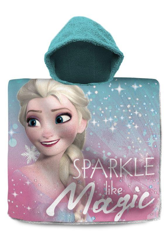 Pončo Ľadové Kráľovstvo Elsa Magic 60/120