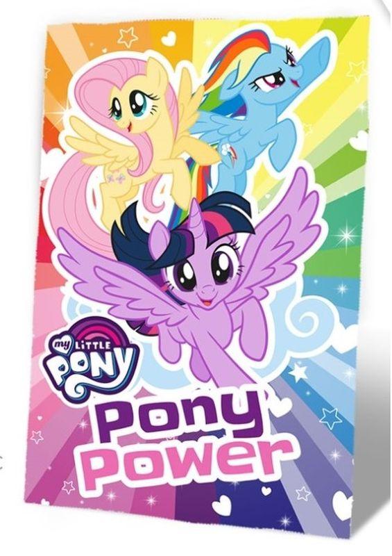 Fleece deka My Little Pony 100/150