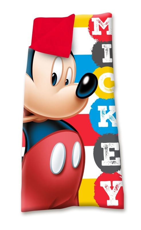 EUROSWAN Spací vak Mickey Hey  Polyester, 68/138 cm