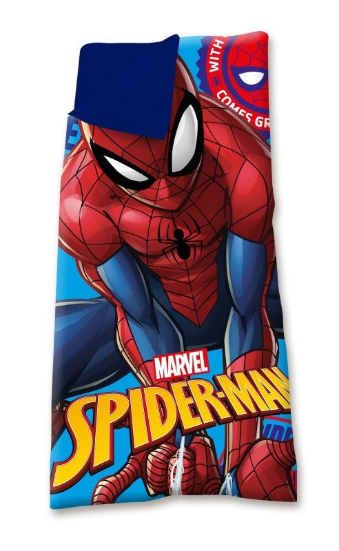 EUROSWAN Spací vak Spiderman  Polyester, 70/140 cm