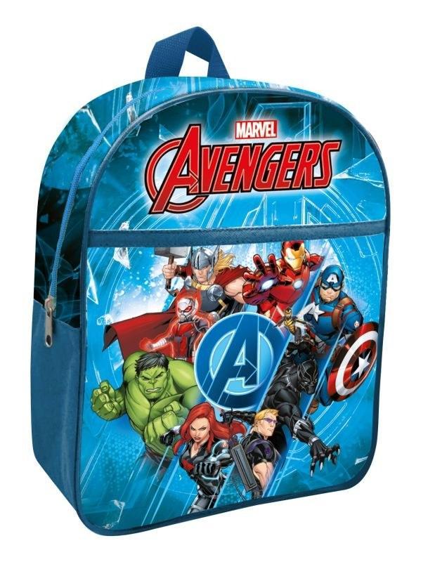 EUROSWAN Detský batoh s vreckom Avengers  Polyester, 30 cm
