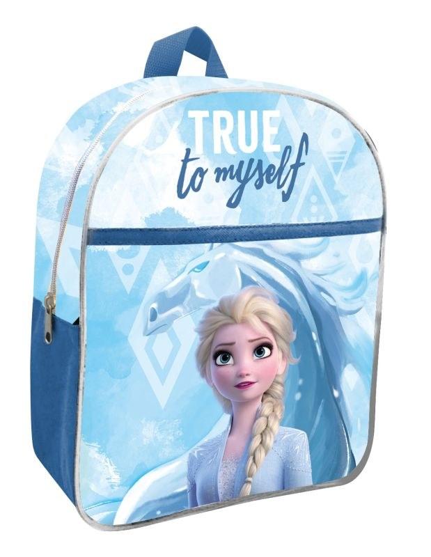 EUROSWAN Detský batoh s vreckom Ľadové Kráľovstvo 2 Elsa Polyester, 30 cm