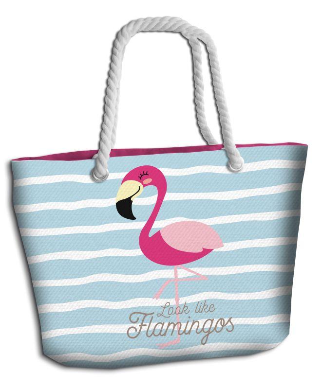 Plážová taška Plameniak