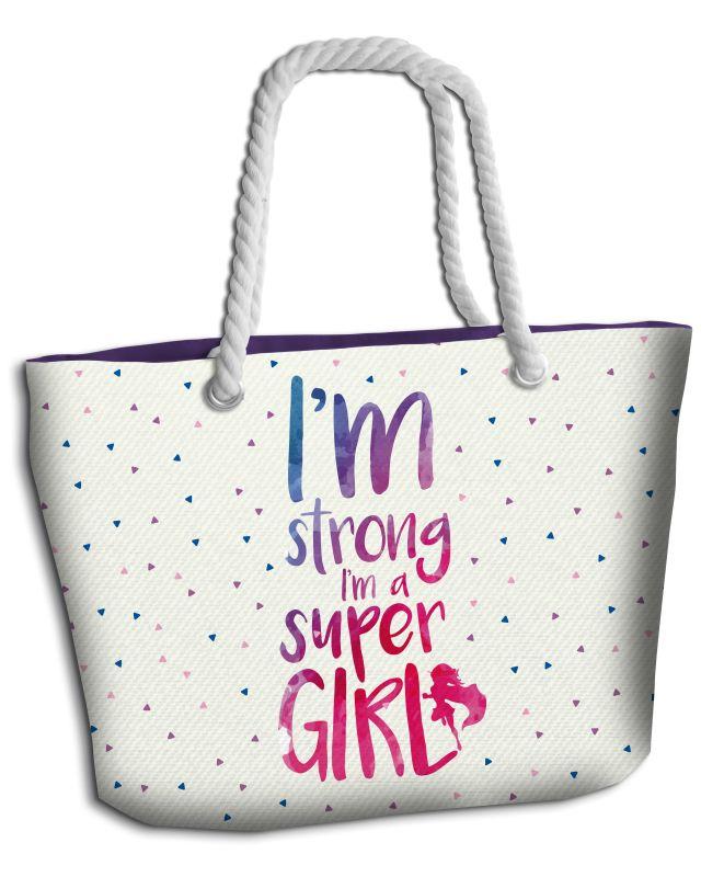 Plážová taška Super Girl