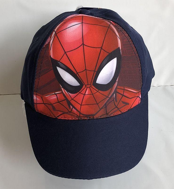 EUROSWAN Šiltovka Spiderman vel.52  Polyester