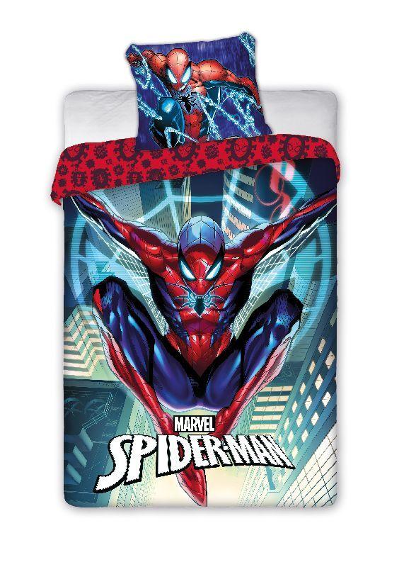 FARO Obliečky Spiderman city  Bavlna, 140/200, 70/90 cm