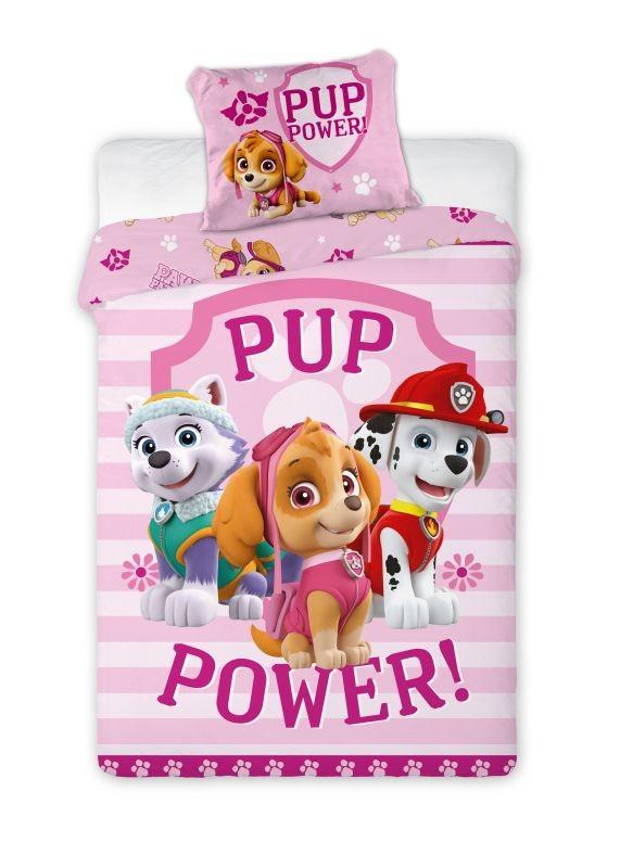 FARO Obliečky Paw Patrol Pup Power  Bavlna, 140/200, 70/90 cm